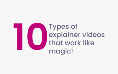 Let's look at the 10 best types of explainer videos that work like magic