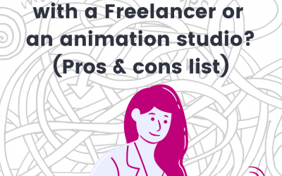 Should you choose to go with a Freelancer or Studio? (Pros and cons list)